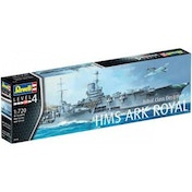 Ex-Display HMS Ark Royal & Tribal Class Des 1:720 Revell Model Kit Used - Like New