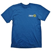 Fallout - Vault 76 Men's X-Large T-Shirt - Blue