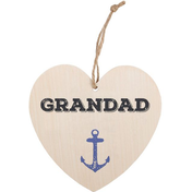 Grandad Hanging Heart Sign