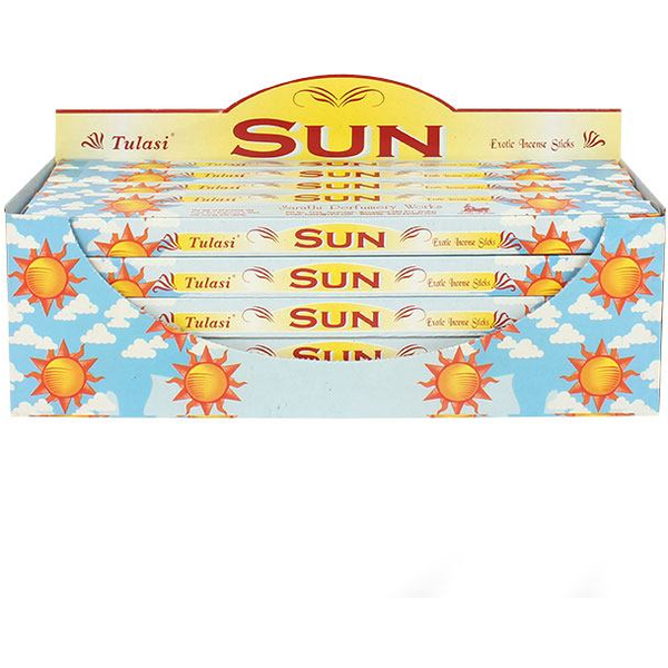 Pack of 25 Tulasi Sun Incense
