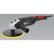 Sealey ER1700PD Polisher Digital Ø180mm 1100W/230V Lightweight