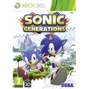 Sonic Generations Game Xbox 360