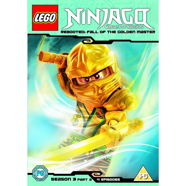 Lego Ninjago Season 3 Part 2 DVD