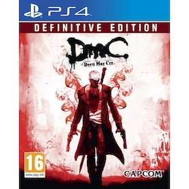 DmC Devil May Cry Definitive Edition PS4 Game