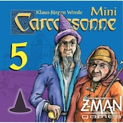 Carcassonne Mage & Witch Mini Expansion 5