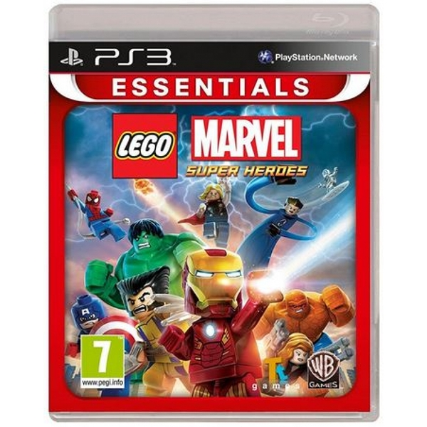Lego Marvel Super Heroes Game PS3 (Essentials)