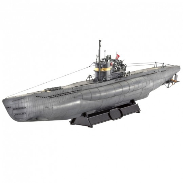 Submarine Type VII C/41 1:144 Revell Model Kit - Image 1