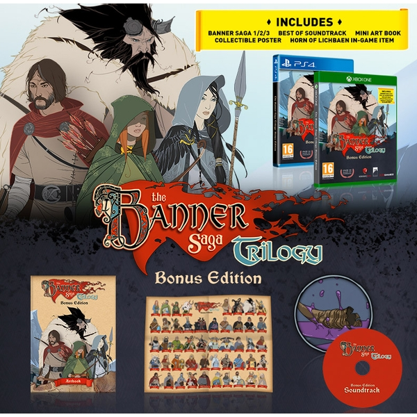 The Banner Saga Trilogy Bonus Edition PS4 Game - Image 5