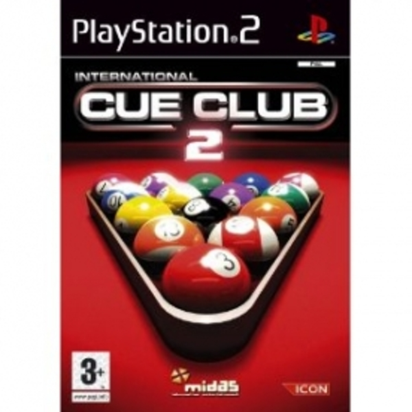 Ex-Display International Cue Club 2 Game PS2 Used - Like New