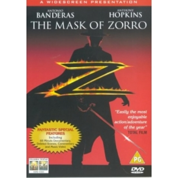 Mask Of Zorro DVD