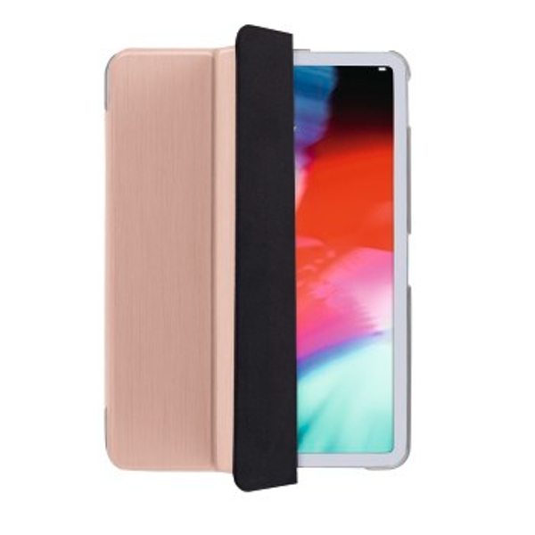 Hama Fold Clear 32.8 cm (12.9 Inches) Rose Gold ? Case for Tablet (Backrest, Apple, iPad Pro 12.9 (2018), 32.8 cm (12.9 Inch), 330 g, Rose Gold)