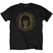 The Rolling Stones - Keith for President Men's X-Large T-Shirt - Black