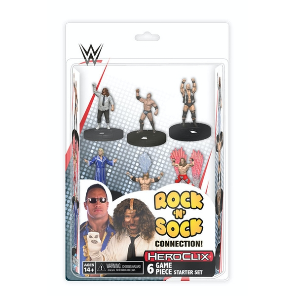 WWE HeroClix: The Rock 'n' Sock Connection: 2 Player Starter Set