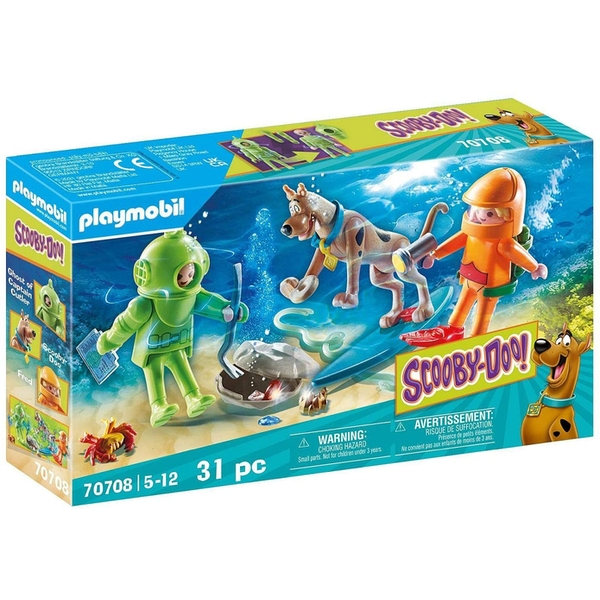Playmobil Scooby-Doo Adventure with Ghost of Captain Cutler Playset