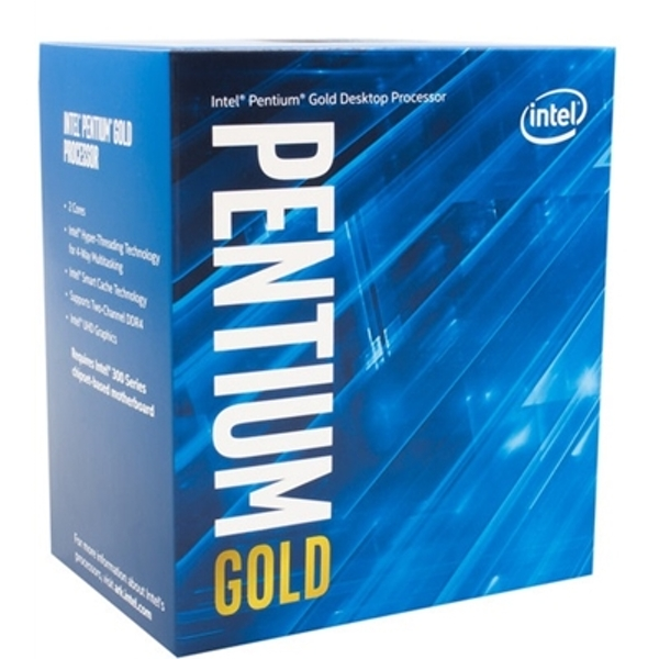 Intel Pentium Gold G5400 Dual Core 3.7GHz 1151 Socket Processor With Heat Sink Fan