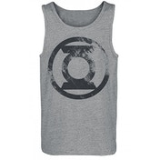 Green Lantern Washed Logo Unisex Small Premium Vest