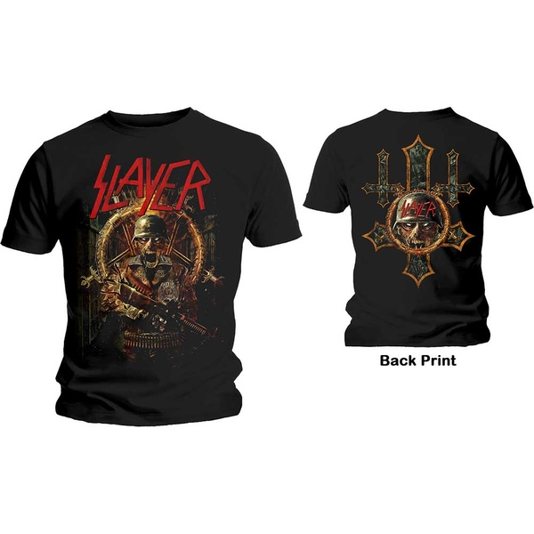 Slayer - Hard Cover Comic Book Unisex Large T-Shirt - Black