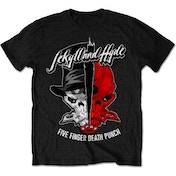 Five Finger Death Punch - Jekyll & Hyde Men's XX-Large T-Shirt - Black