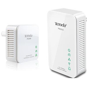 TENDA PW201A P200 Wireless N300 Powerline Extender with Mini PowerLine Adapter Kit UK Plug