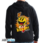 Pac-Man - Let's Play Man Men's Large Hoodie - Black