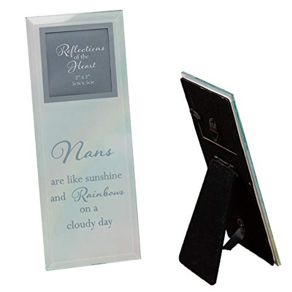 """2"""" x 2"""" - Reflections Of The Heart Photo Frame - Nans"""