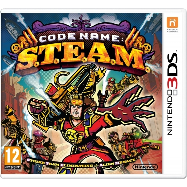 Code Name S.T.E.A.M 3DS Game