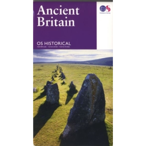 Ancient Britain by Ordnance Survey (Sheet map, folded, 2016)