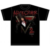 Alice Cooper Welcome to My Nightmare Mens T Shirt: Large