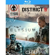 District 9 / Elysium / Chappie Blu-ray