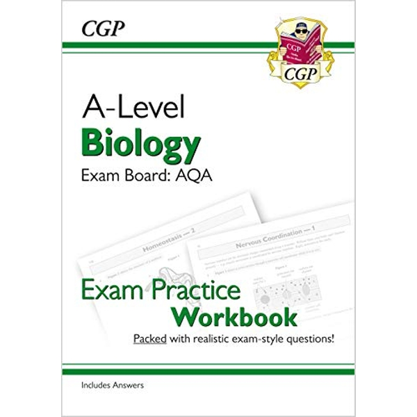 New A-Level Biology: AQA Year 1 & 2 Exam Practice Workbook - includes Answers  Paperback / softback 2018