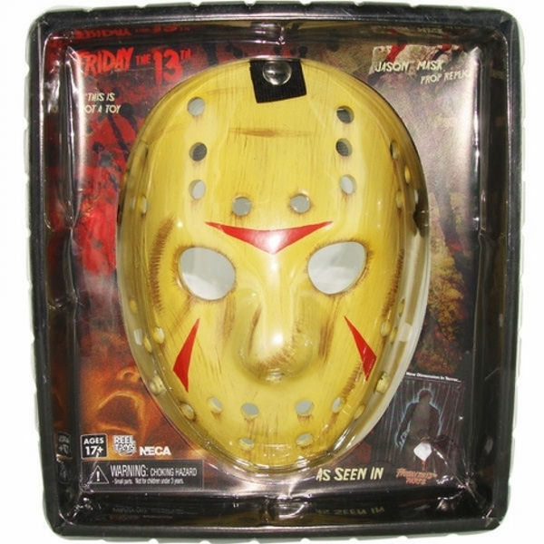 Jason Mask (Friday the 13th Part 3) NECA Adult Size Replica Prop Mask - Image 2