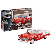 55 Chevy Indy Pace Car 1:25 Scale Level 4 Revell Model Kit