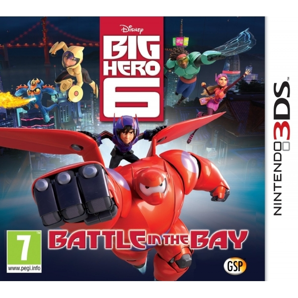 Disney Big Hero 6 Battle in the Bay 3DS Game - Image 1
