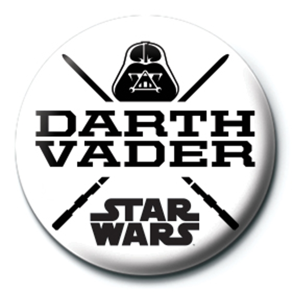 Star Wars - Darth Vader Badge