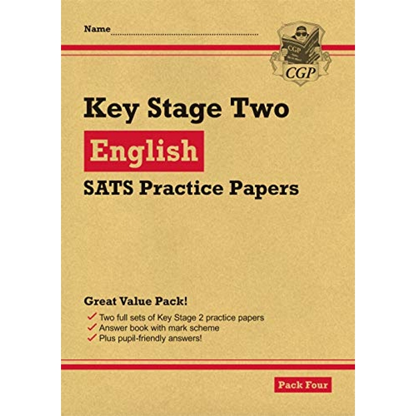 New KS2 English SATS Practice Papers: Pack 4 (for the 2021 tests)  Paperback / softback 2018