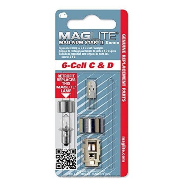 Maglite Mag Instrument Mag-Num Star Xenon Bulb For Mag Star Xenon 6 D or C cell