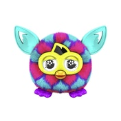Furby Furblings Pink and Blue Hearts Plush Figure