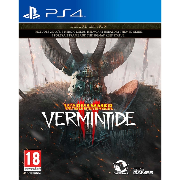 Warhammer Vermintide 2 Deluxe Edition PS4 Game