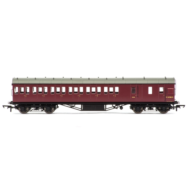 Hornby BR 57' Stanier Non-Corridor Brake Third M20788M Era 5 Model Train