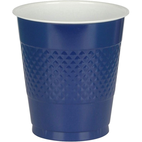 Plastic Cup 355ml (Navy Blue)