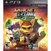 Ratchet & and Clank All 4 For One Game PS3 (#)