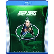 Star Trek the Next Generation Series 4 Blu-ray