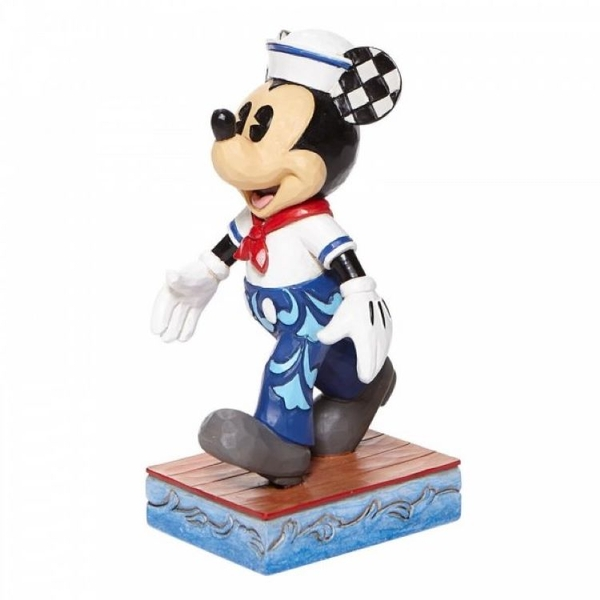 Snazzy Sailor Mickey Sailor Personality Pose Figurine