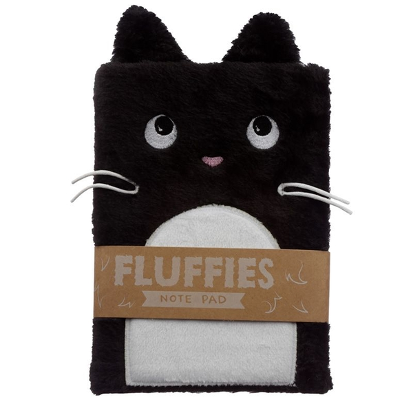 Feline Fine Cat Plush Fluffies Notepad/Notebook