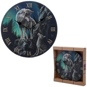 Decorative Wolf Guidance Lisa Parker Designed Wall Clock