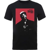 Snoop Dogg - Red Square Men's Small T-Shirt - Black