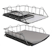 A4 Wire Filing Trays | M&W Black - Image 6