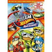 Team Hot Wheels: The Origin Of Awesome!   Stickers DVD