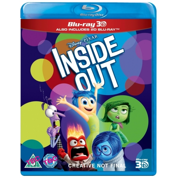 Inside Out Blu-ray 3D + Blu-ray