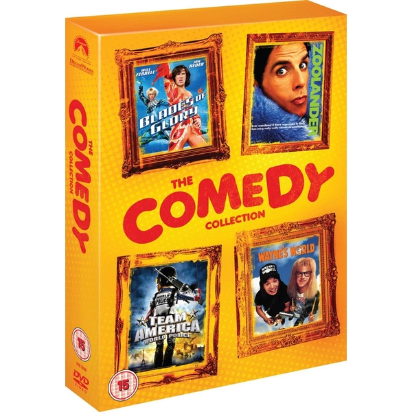 Comedy Collection DVD 4-Disc Set Box Set